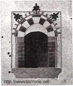 black and white west window's drawing